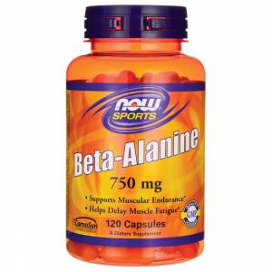 Бета-Аланин / NOW - Beta Alanine 750mg (120 caps)