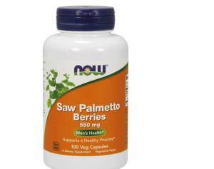 Saw Palmetto Berries 550 mg - 100 Capsules