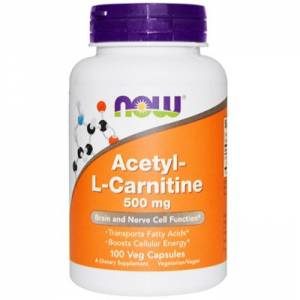 Ацетил-Л-Карнитин / NOW - Acetyl-L-Carnitine 500mg (50 caps)