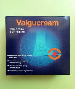 Valgucream - Крем от вальгусной деформации (ВальгуКрем)